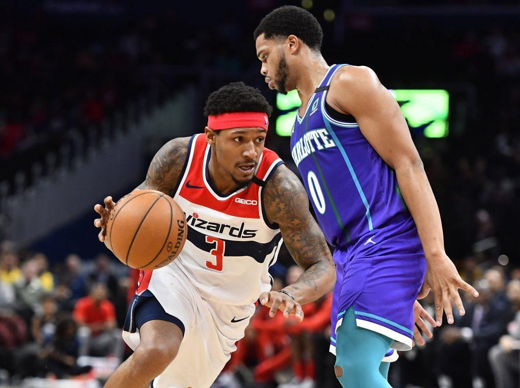 Bradley Beal Playing Against Hornets