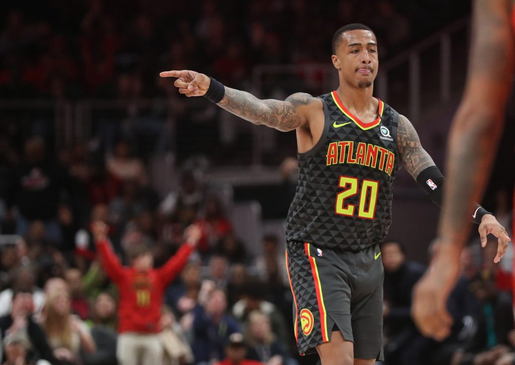 John Collins Playing for Hawks