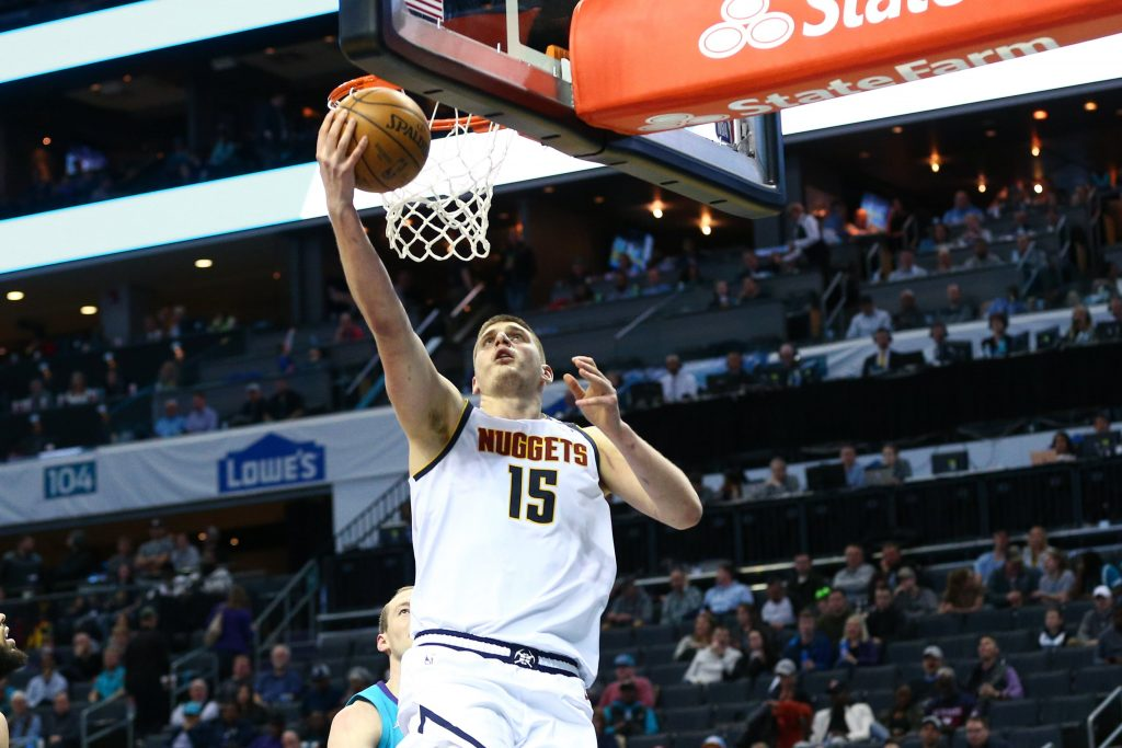 Nikola Jokic Playing for Nuggets