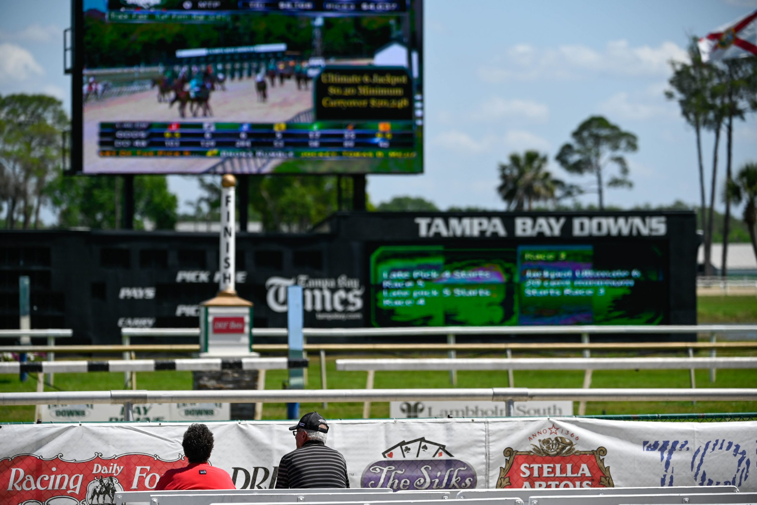 Tampa Bay Downs Rack Track Guide
