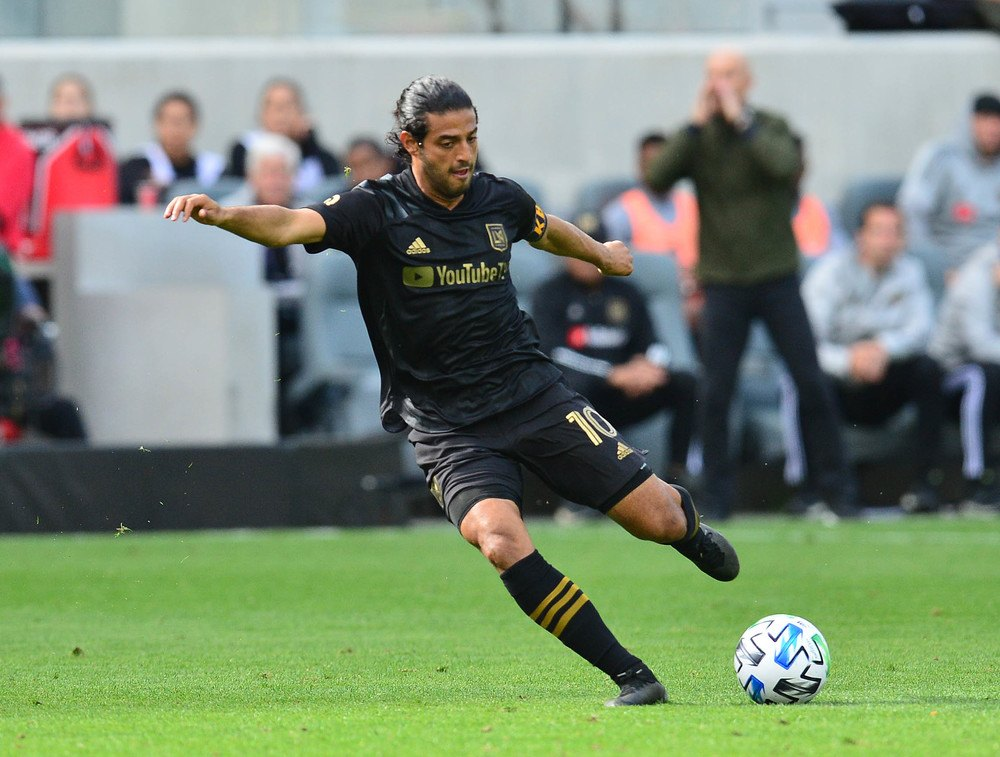 Carlos Vela of Los Angeles FC