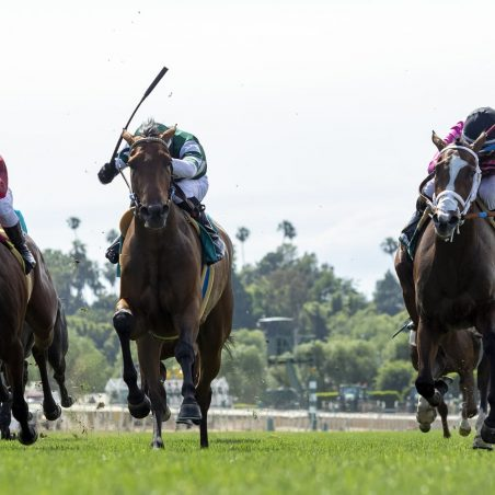 Horse Racing Picks at Belmont Park and Santa Anita for Monday, May 31: Whisper Not going to win
