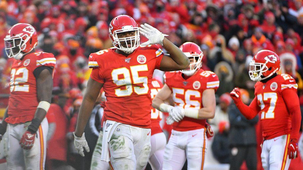 Chiefs defensive lineman Chris Jones
