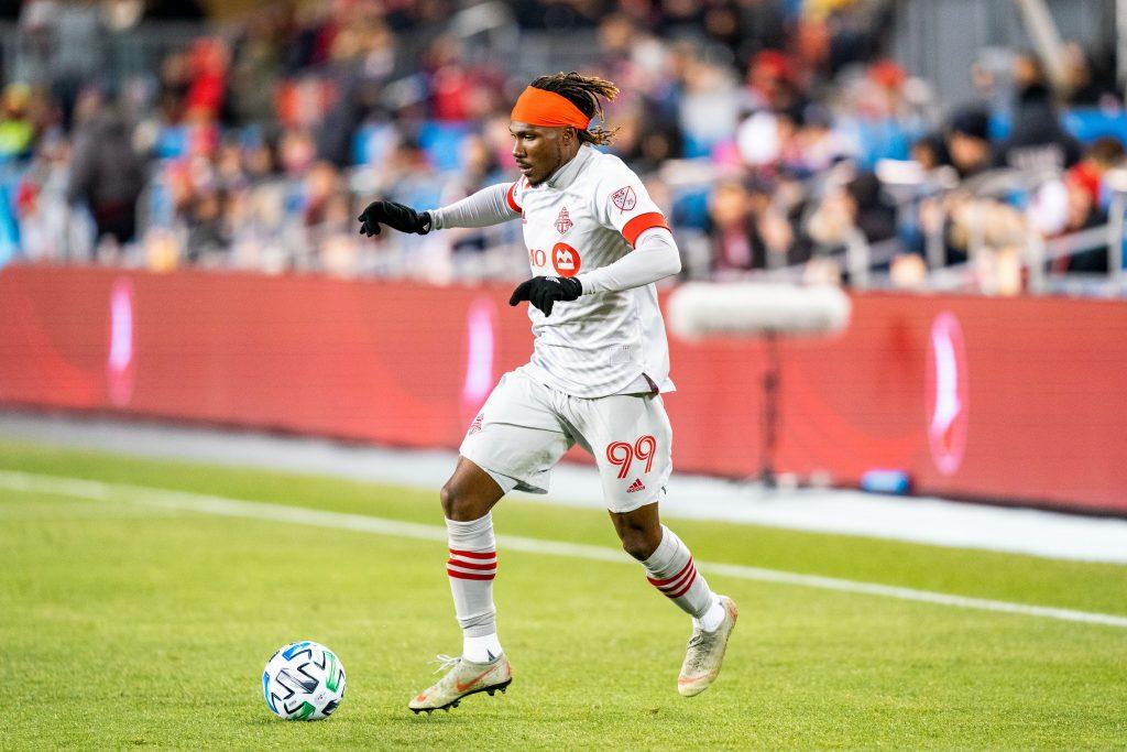 Toronto FC forward Ifunanyachi Achara