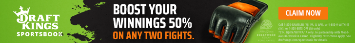 Draftkings boost UFC 251 promo