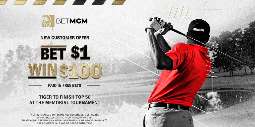 BetMGM Tiger Offer