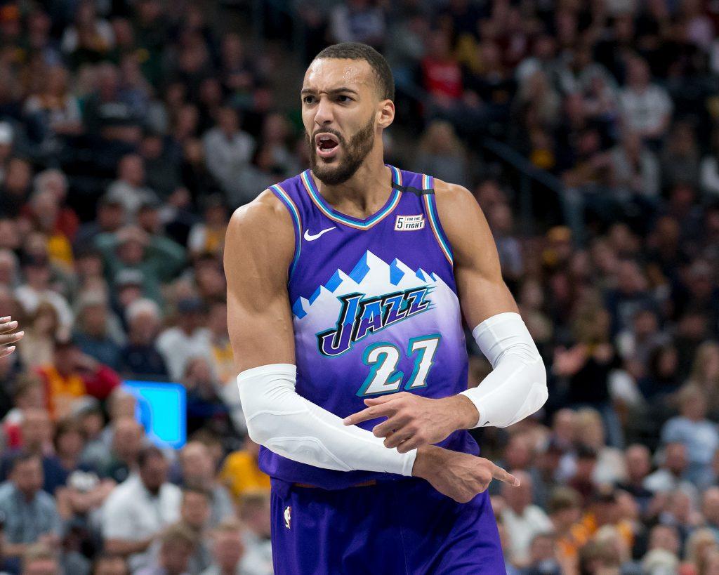 Utah Jazz center Rudy Gobert (27)