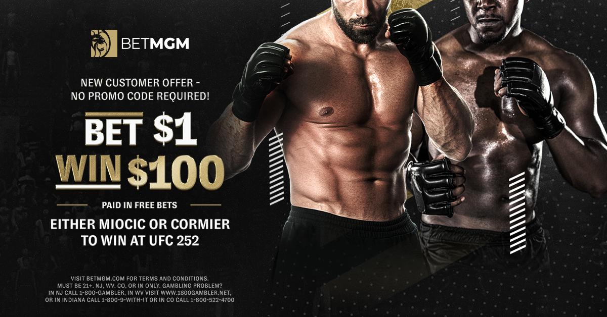 BetMGM UFC 252