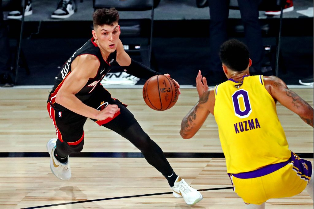 Tyler Herro of the Miami Heat