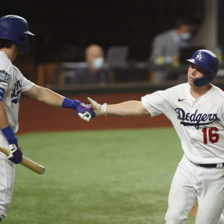 Same Game Parlay (+1855) for World Series Game 3 - Los Angeles Dodgers vs. Tampa Bay Rays
