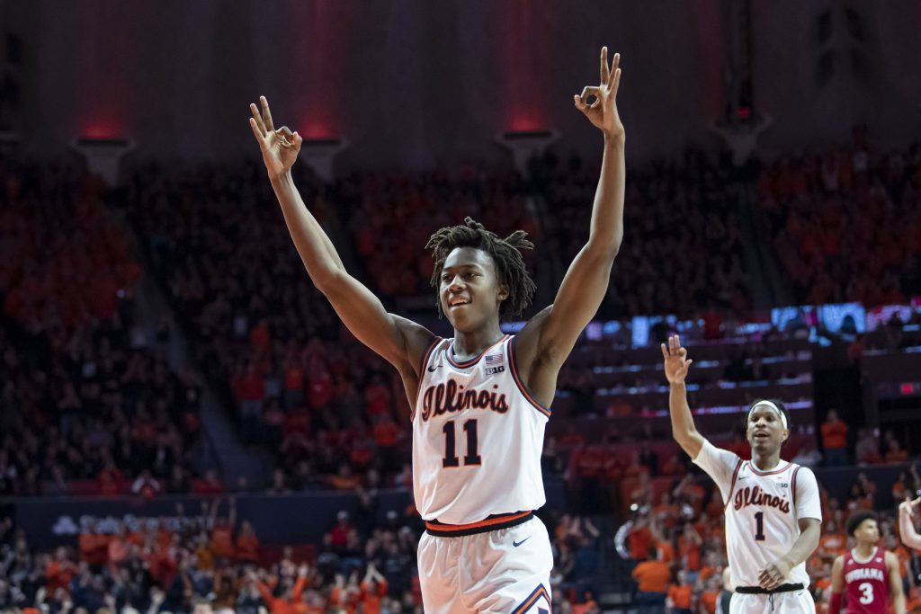 Ayo Dosunmu of the Illinois Fighting Illini
