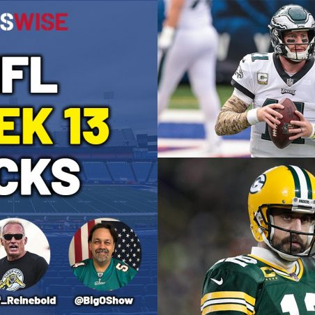 Pickswise NFL Show with Orlando Alzugaray Jr: Week 13 Preview, Picks, Best Bets, Parlay Picks and Underdogs