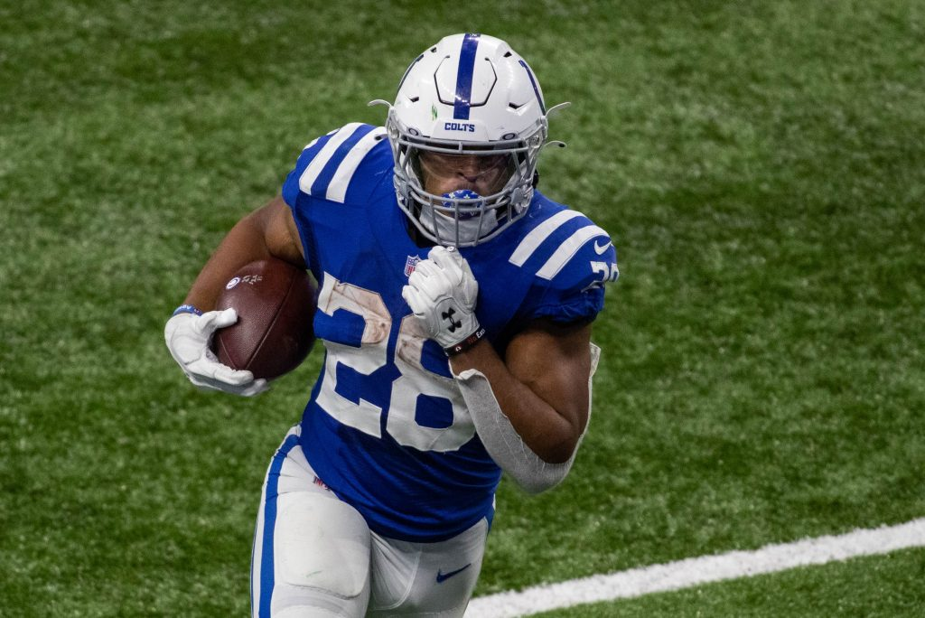 Jonathan Taylor of the Indianapolis Colts