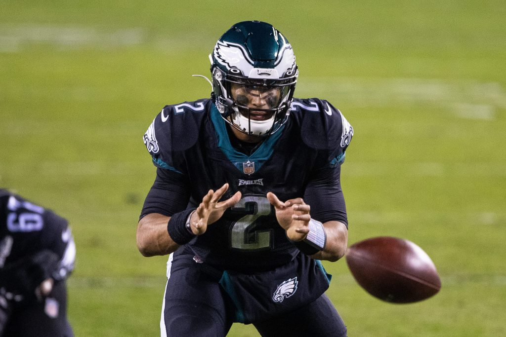 Jalen Hurts of the Philadelphia Eagles