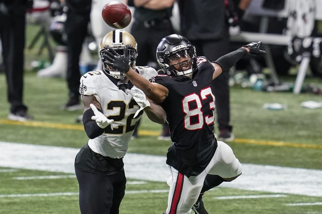 Russell Gage of the Atlanta Falcons