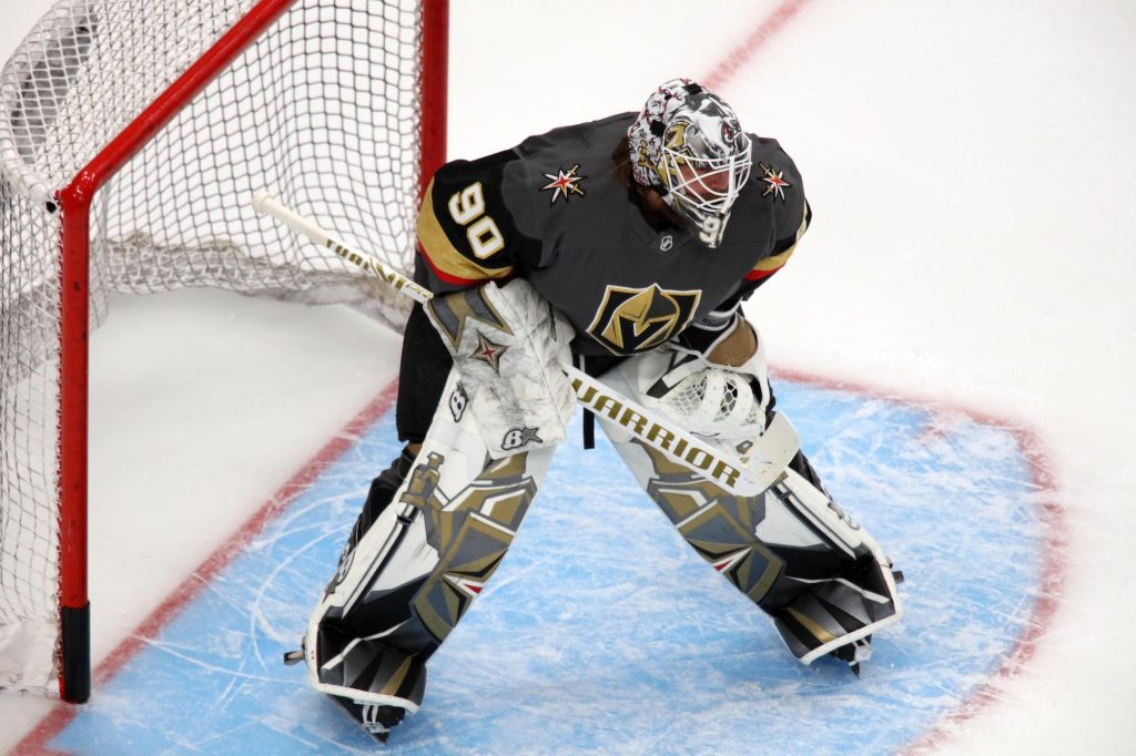 Goaltender Robin Lehner will hope to be part of a Stanley Cup-winning Vegas Golden Knights team this season.