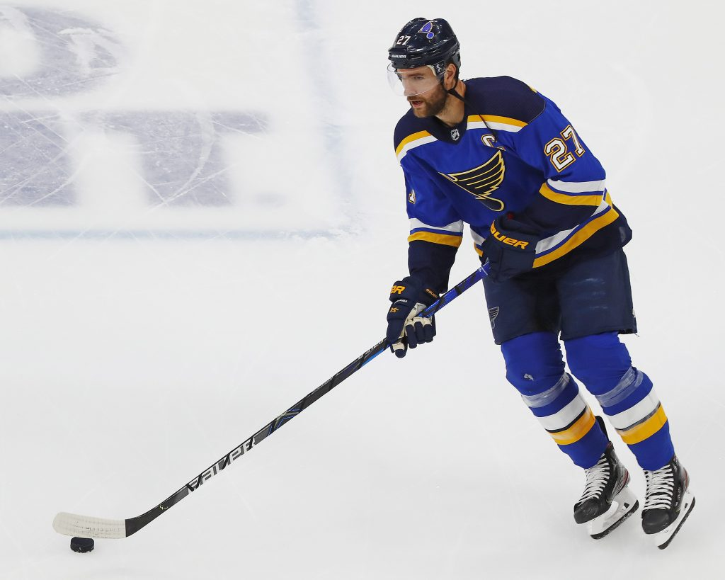 Alex Pietrangelo was the big off-season acquisition for the Golden Knights.