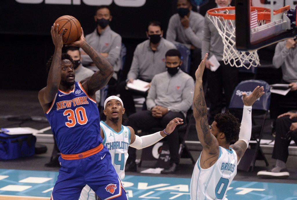 Julius Randle of the New York Knicks