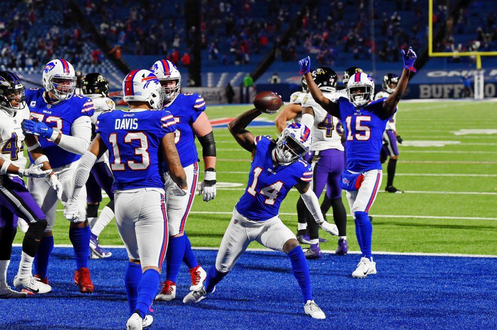 Stefon Diggs of the Buffalo Bills