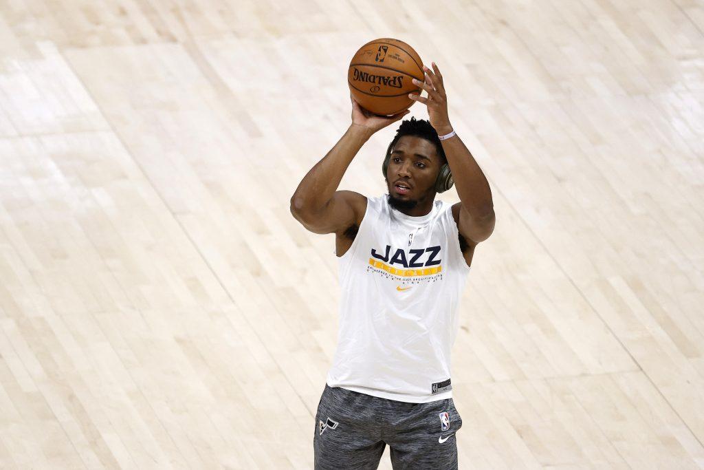 Donovan Mitchell of the Utah Jazz