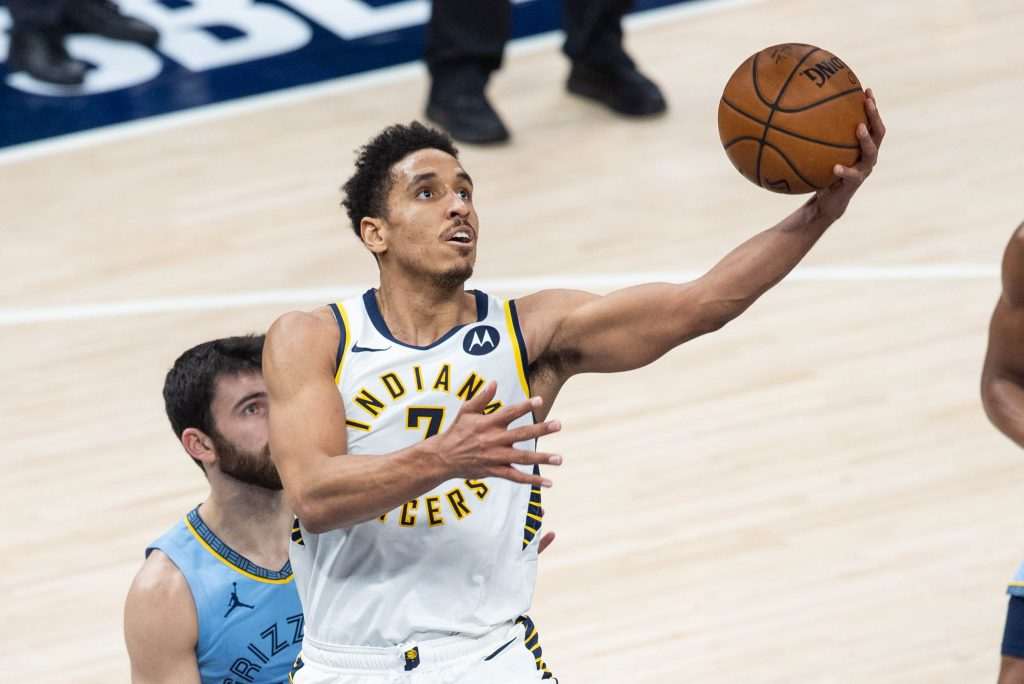 Malcolm Brogdon of the Indiana Pacers