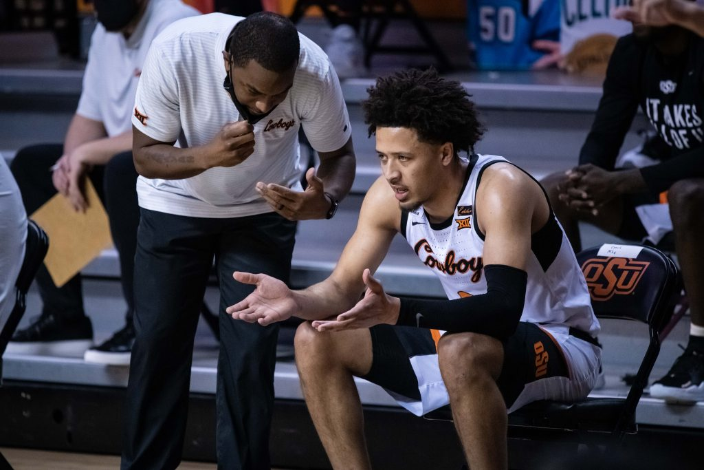 Cade Cunningham of the Oklahoma State Cowboys