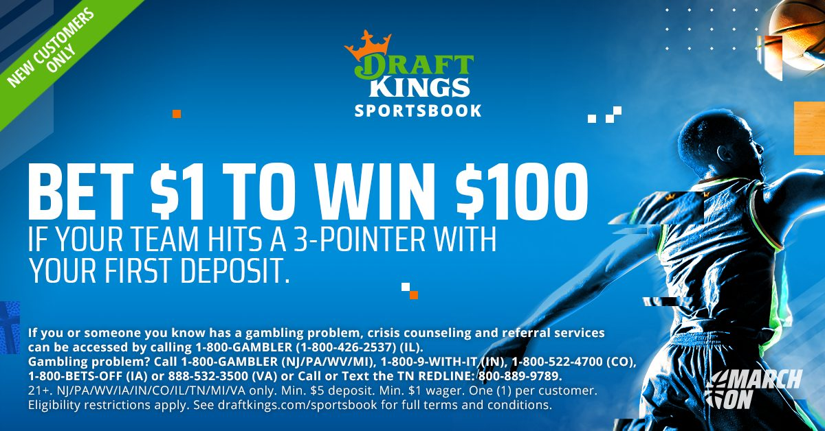 draftkings pre march madness offer
