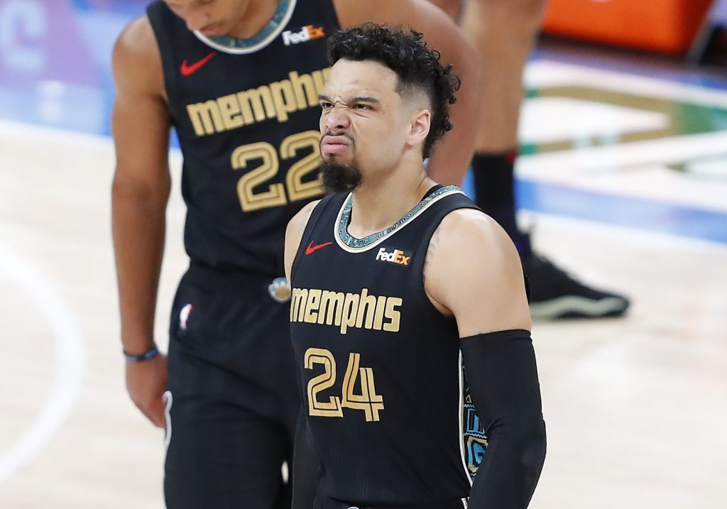 Dillon Brooks smelling