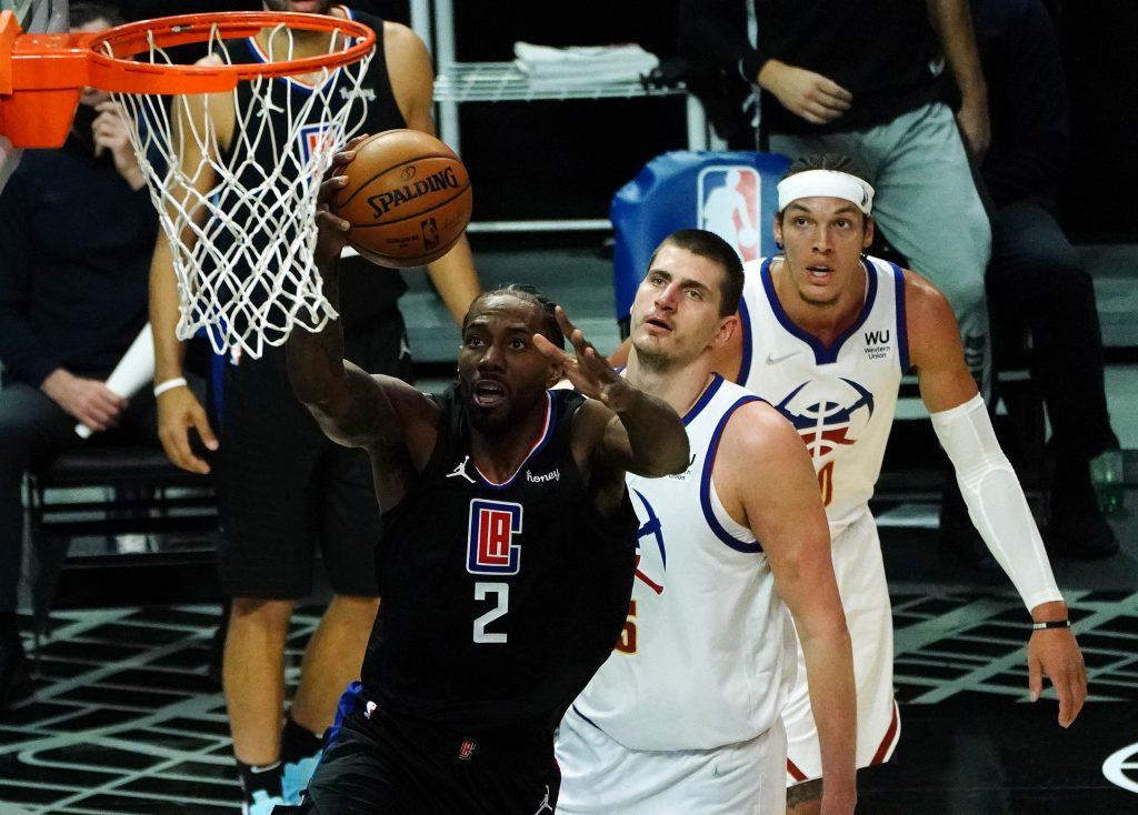 Kawhi Leonard layup Clippers