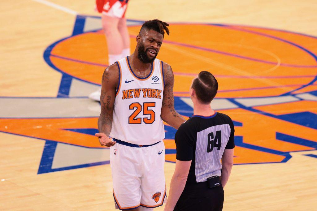 Reggie Bullock Knicks
