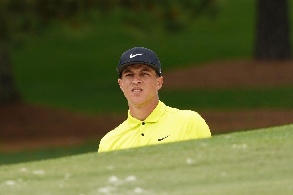 Cameron Champ at the Masters