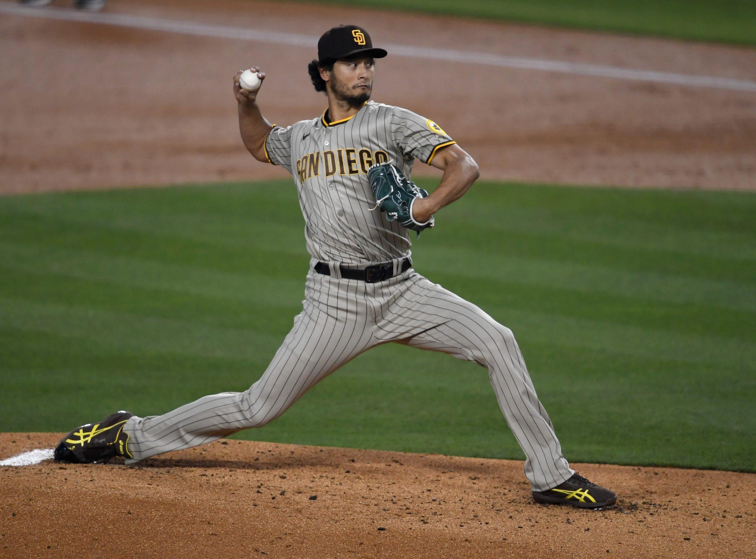 Yu Darvish of the San Diego Padres