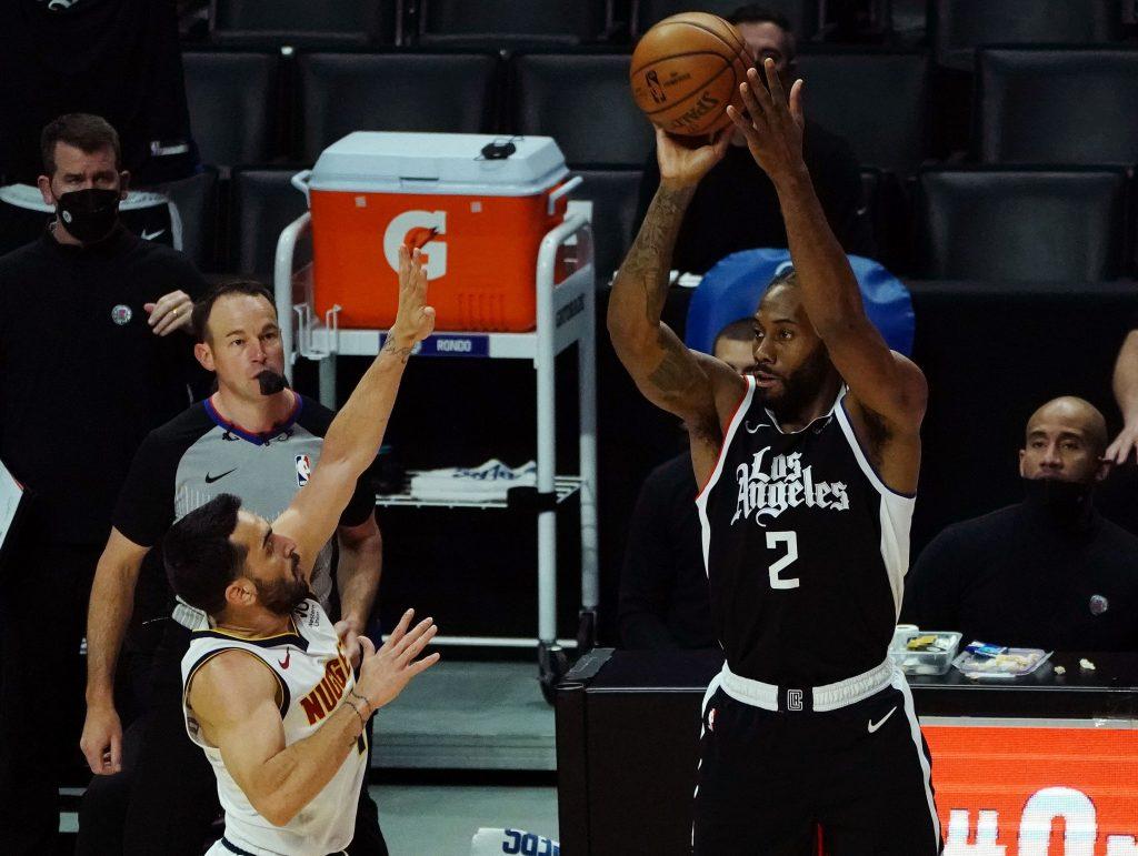 Kawhi Leonard Clippers vs Raptors