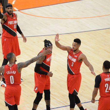 NBA Sunday Same Game Parlay (+997 odds): Denver Nuggets vs. Portland Trail Blazers