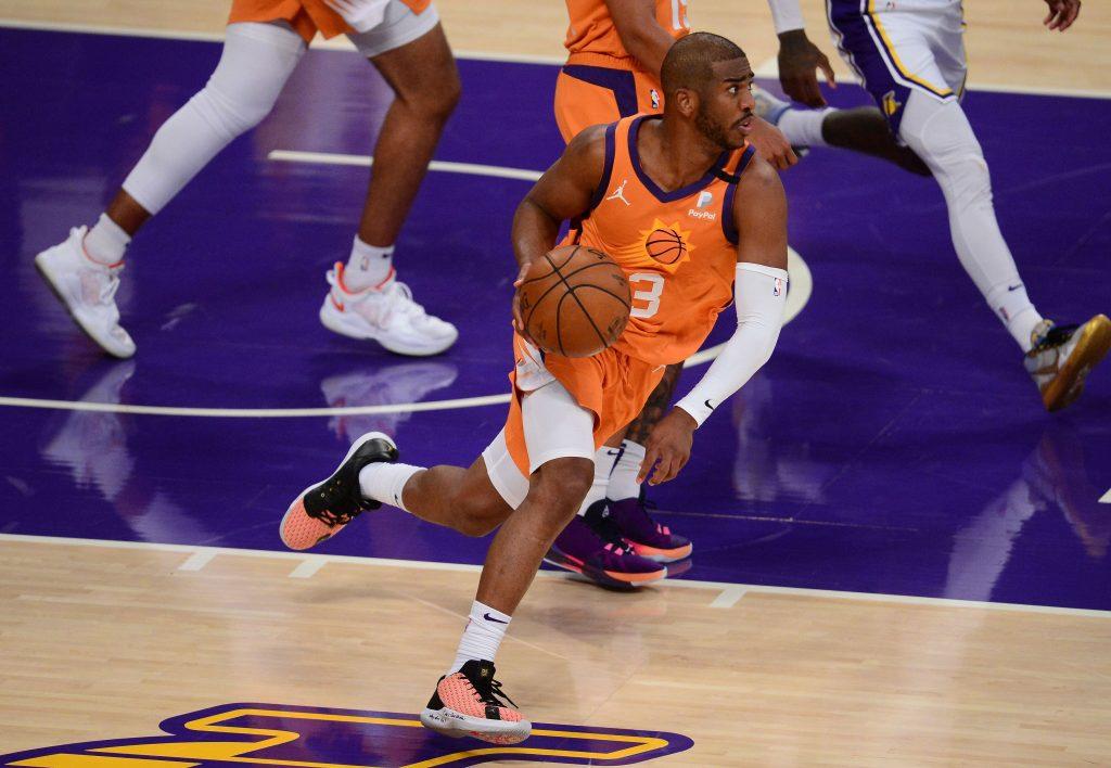 Chris Paul Lakers vs Suns