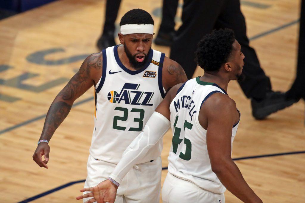 Utah Jazz Donovan Mitchell NBA parlay