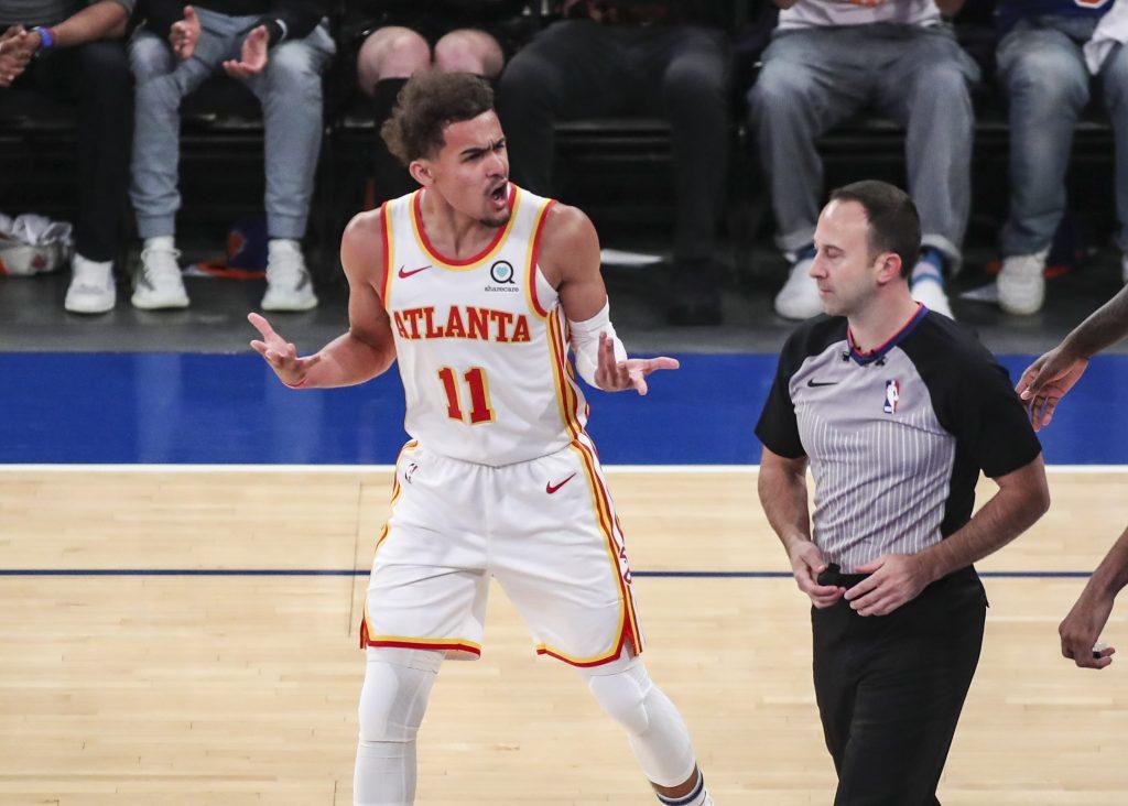 Trea Young Hawks