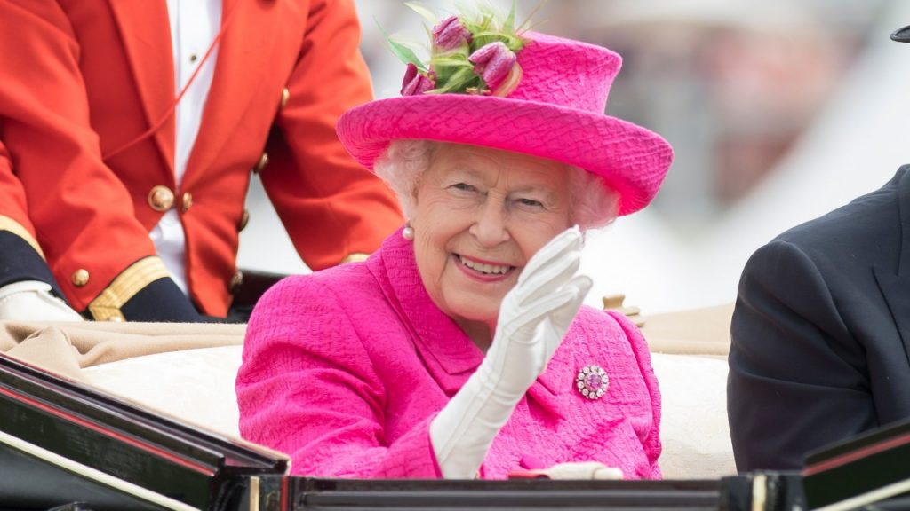 The Queen arrives at Royal Ascot