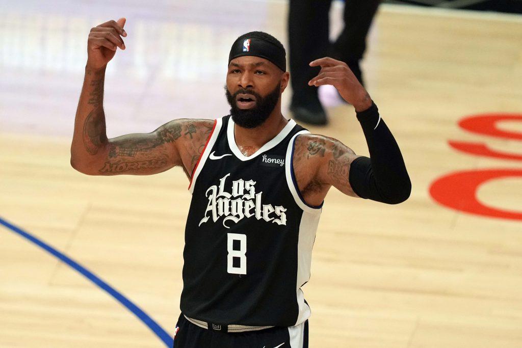 Marcus Morris Utah Jazz - Los Angeles Clippers