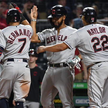 MLB Saturday three-team mega parlay (+1756 odds): Cleveland can crush it