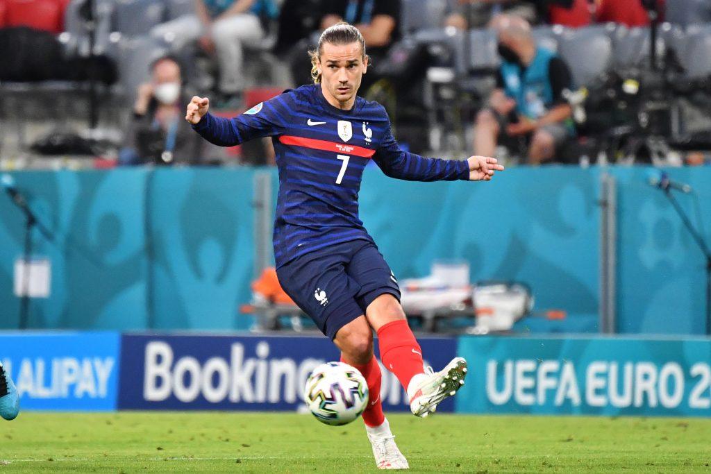 France striker Antoine Griezmann at Euro 2020.