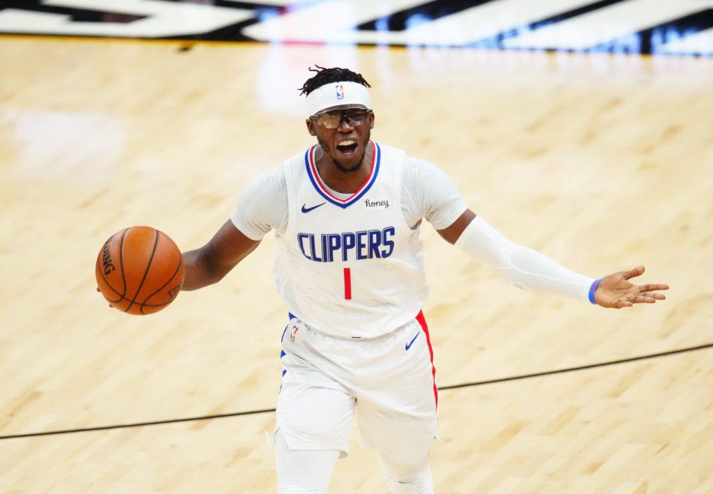 Reggie Jackson Suns vs Clippers