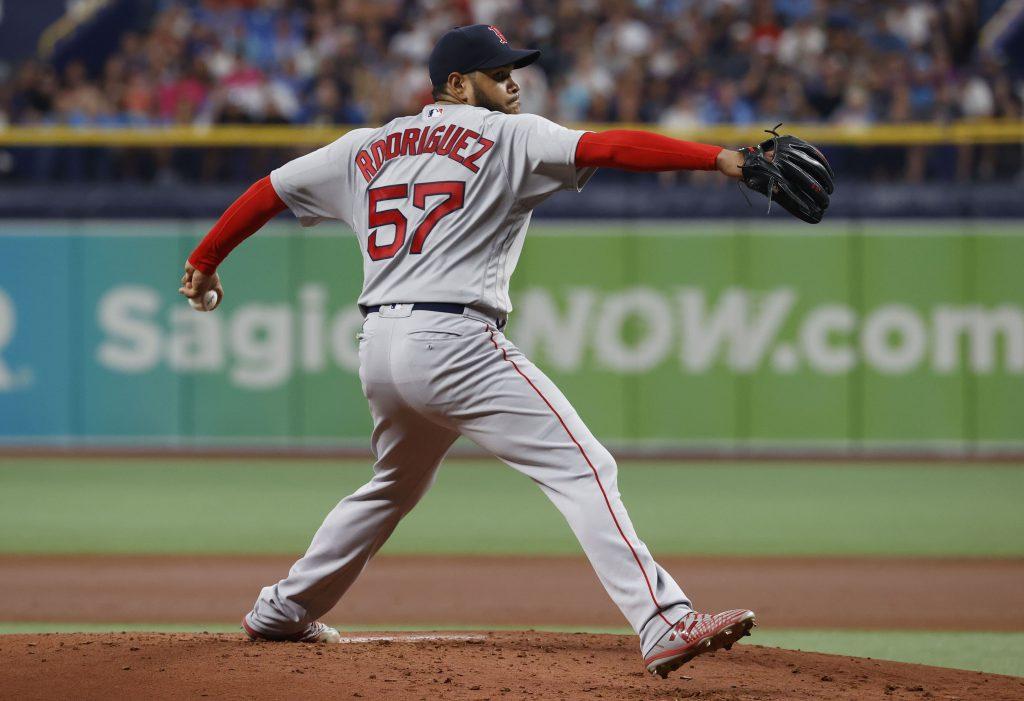 Eduardo Rodriguez Yankees vs Red Sox