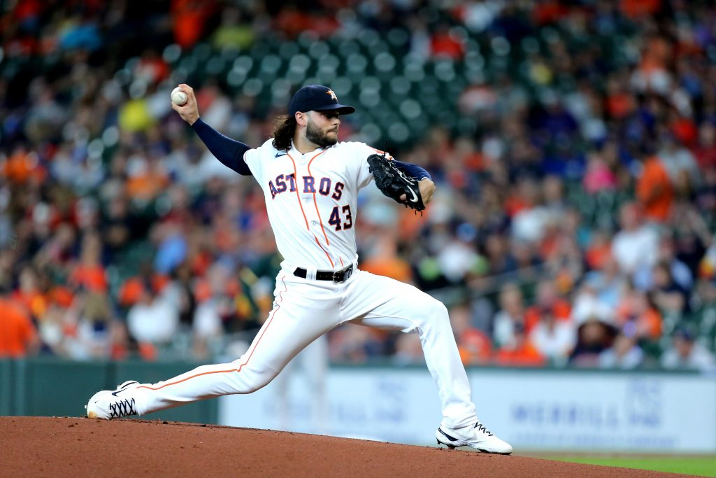 Lance McCullers Jr. of the Houston Astros