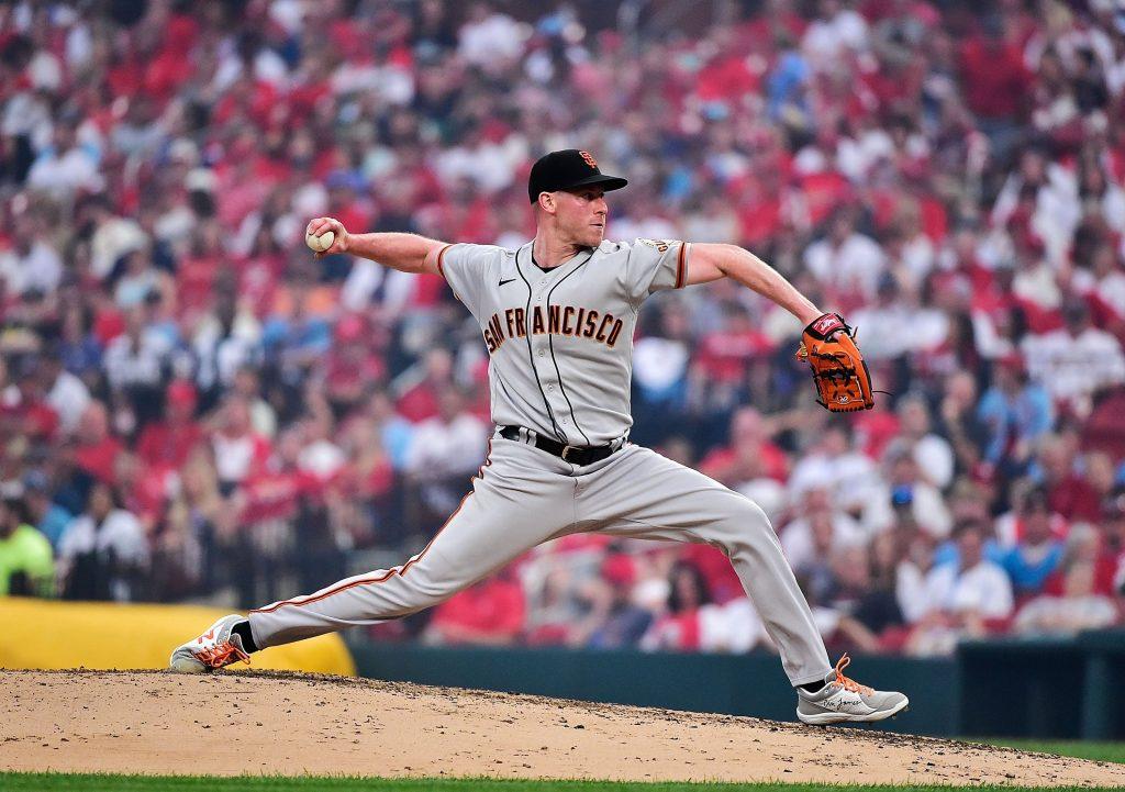 San Francisco Giants starter Anthony DeSclafani MLB player prop same game parlay