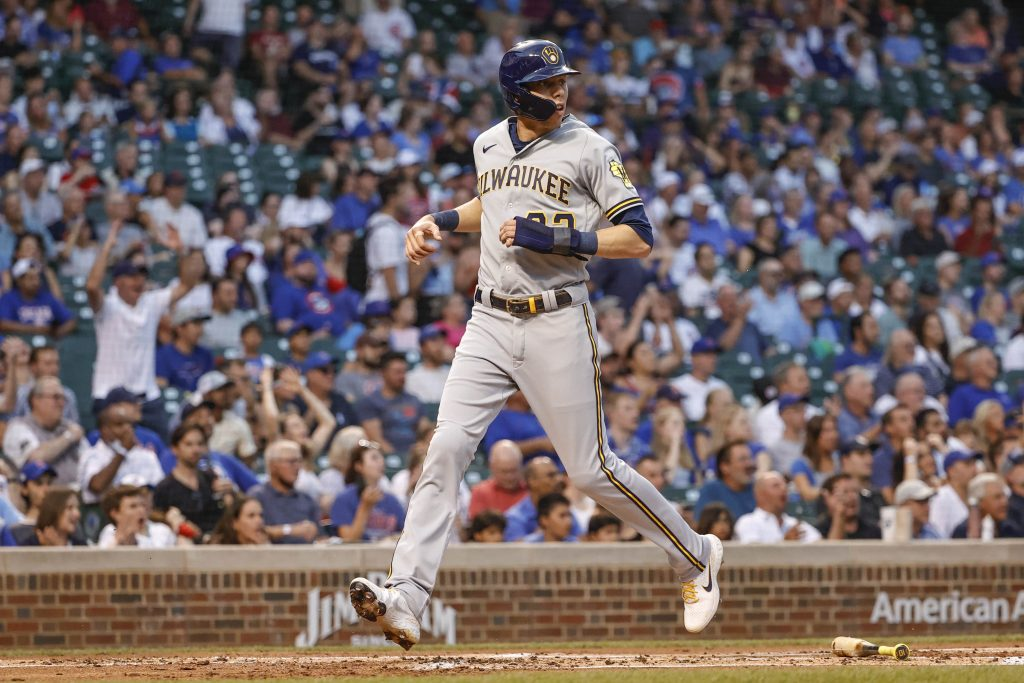 Christian Yelich MLB parlay