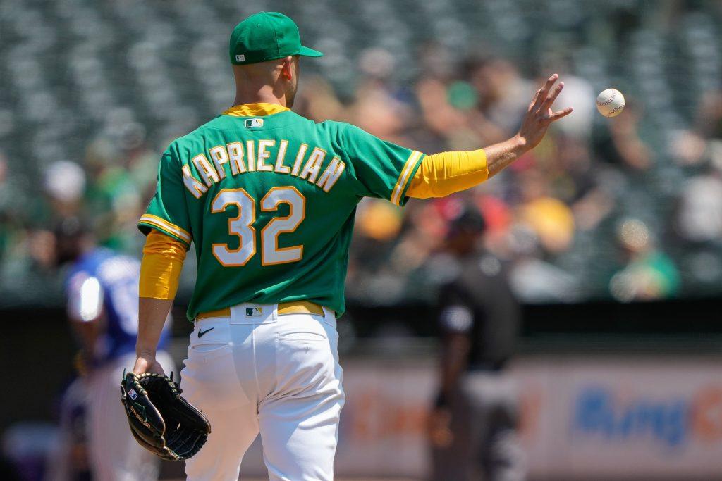 James Kaprielian MLB parlay