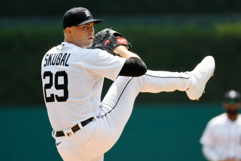 Tarik Skubal MLB player prop