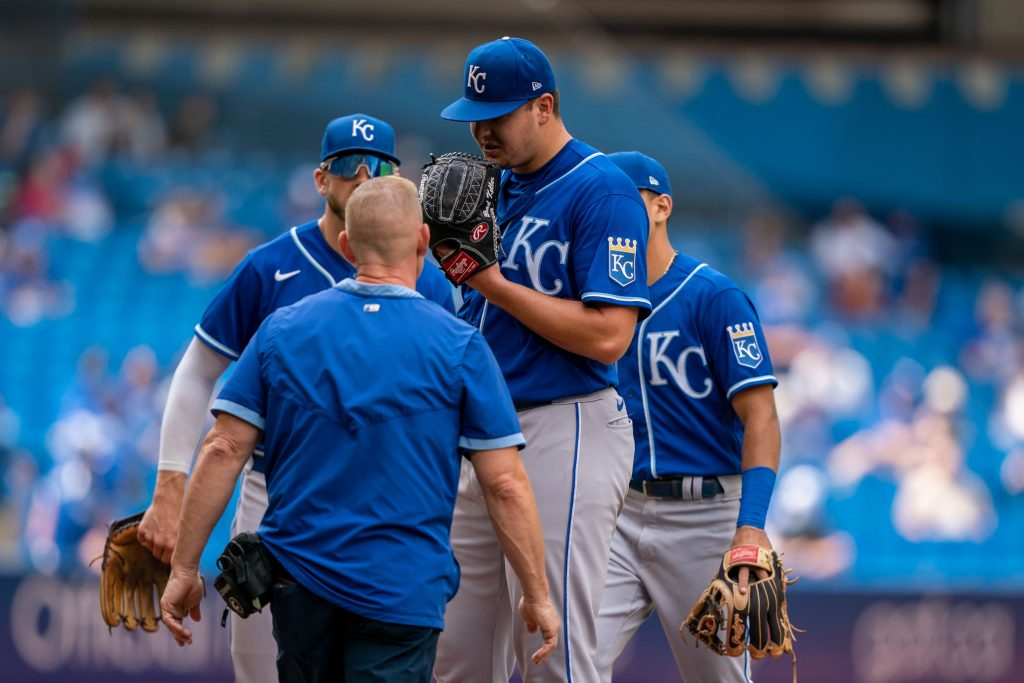 Brad Keller Royals vs Cubs