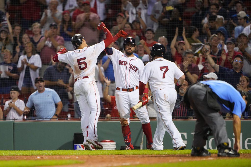 Red Sox MLB parlay